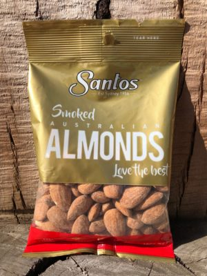 SANTOS Nuts Smoked Almonds 100g