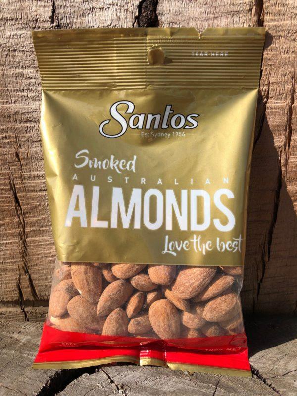 SANTOS Nuts Smoked Almonds 100g